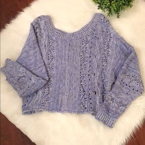 Melrose and Market Crop Sweater!